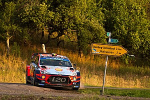 Neuville's Rally Germany win hopes dashed by puncture