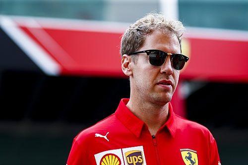 """Vettel admite má fase: """"Não é meu melhor momento""""; Ferrari reafirma apoio ao alemão"""