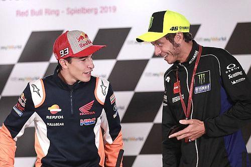 Rossi ve Marquez, Hamilton'ı tebrik etti