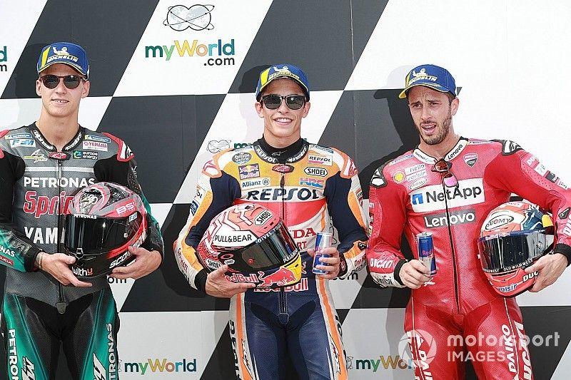 Parrilla de salida para el GP de Austria
