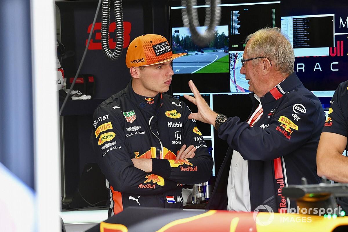 """Chefão da Red Bull diz que maturidade de Verstappen está """"muito acima da média"""""""