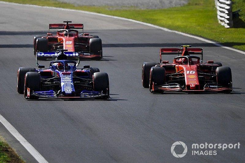 Квят: Две Ferrari просто остановились передо мной