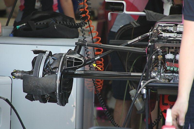 Racing Point estrena cambios en la suspensión para Hungría