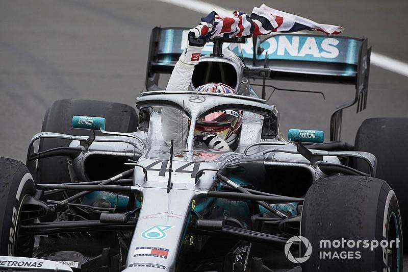 """Avec son meilleur tour, Hamilton a """"rendu les données absurdes"""""""