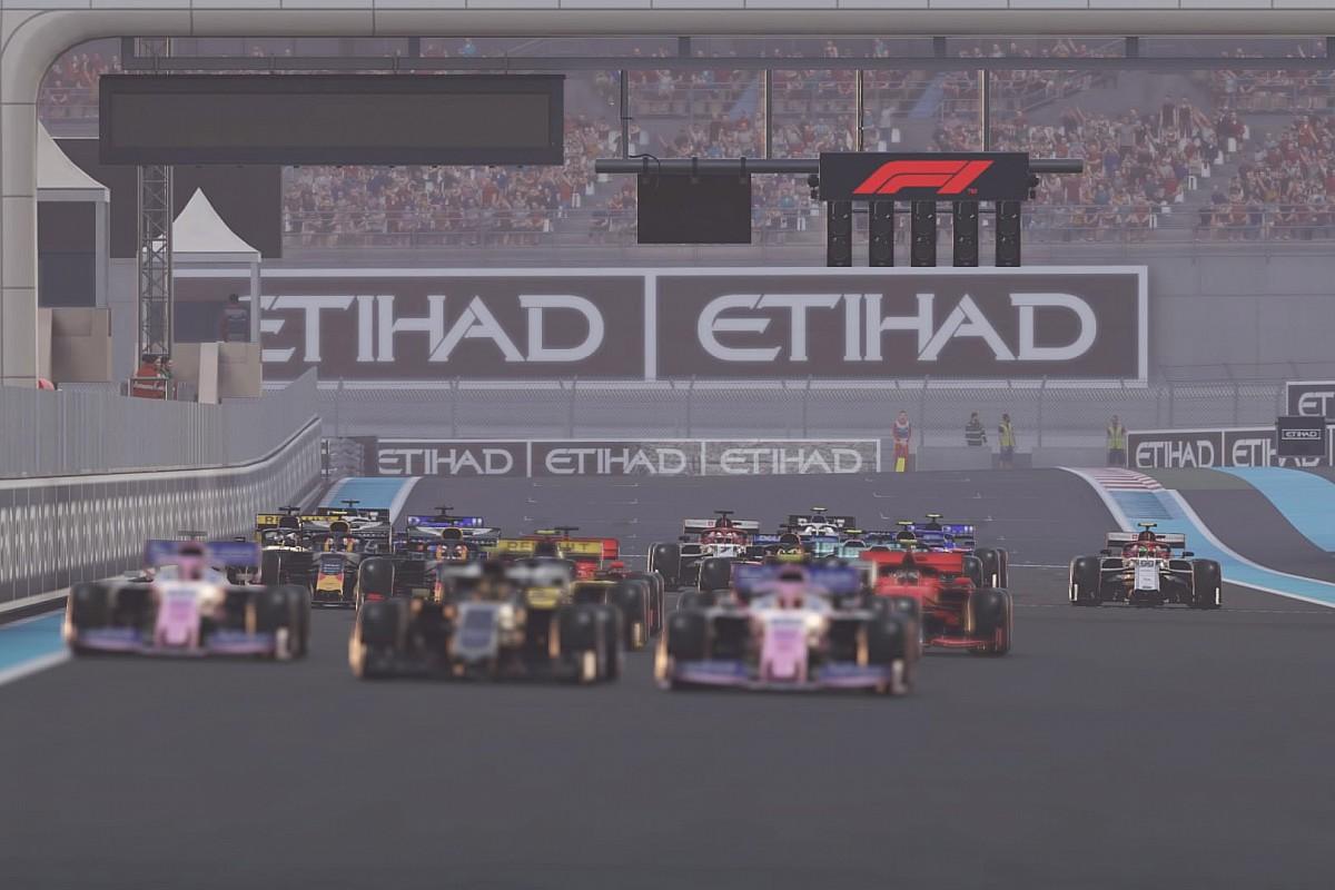 Immobile ve Poulter, F1'in Sanal Çin Grand Prix'sine katılacak