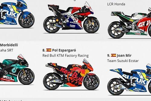 Гран При Валенсии MotoGP: стартовая решетка
