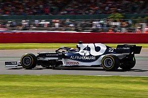 F1イギリス予選・角田レポート:僅差の戦いの中、痛恨のQ1敗退