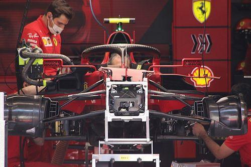 Технический брифинг: асимметричные тормоза Ferrari SF21