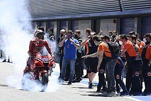 Éxtasis de Ducati en Jerez: las mejores fotos de la carrera