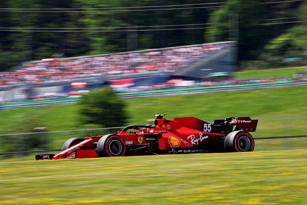 Sainz, Avusturya yarışlarında aldığı sonuçlardan memnun