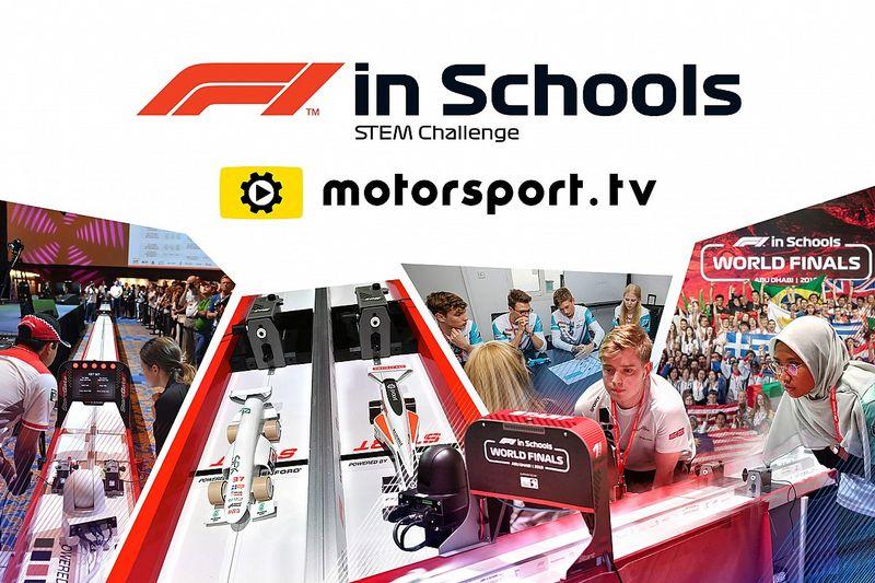 La finale mondiale di F1 in Schools sarà trasmessa live sul nuovo canale Motorsport.tv