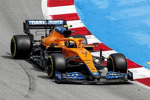 """F1: McLaren tem """"objetivo claro"""" de melhorar performance em classificações"""