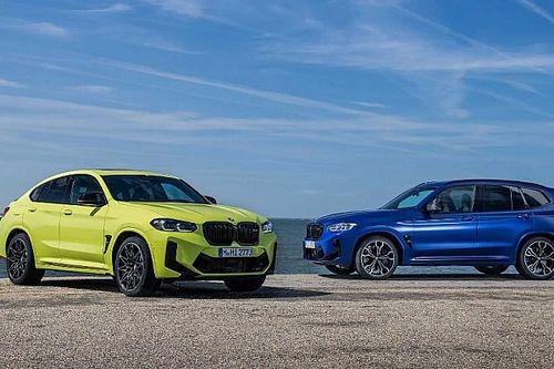 Nem sokat változott az új BMW X3 M és X4 M Competition kiadása