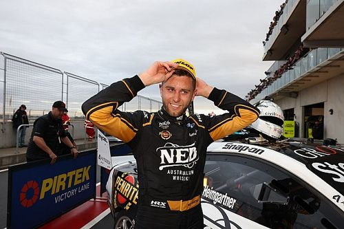 New Supercars race winner Heimgartner almost quit racing for finance job