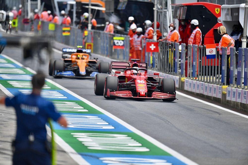 Ferrari can easily be ahead of McLaren in F1, says Norris