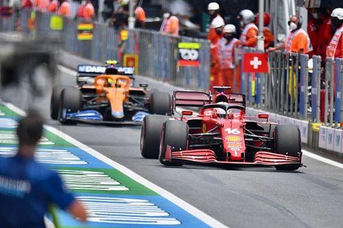 F1: Norris acredita que Ferrari pode facilmente ficar à frente da McLaren