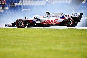 Haas F1 sorprende a Mazepin con un regalo por sus trompos