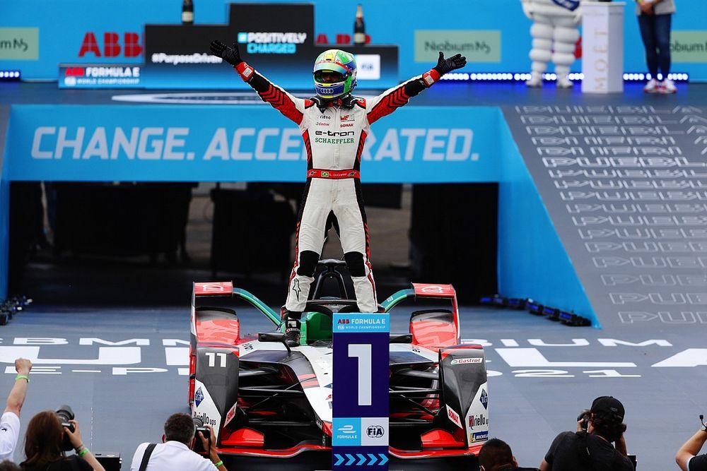 Di Grassi gana en controvertido final en México