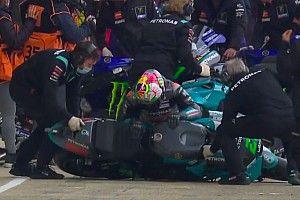 Morbidelli se pierde la carrera de Assen por una lesión en la rodilla