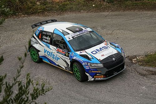 CIR, Rally Due Valli, PS2-4: Albertini in testa. Andolfi-Crugnola KO
