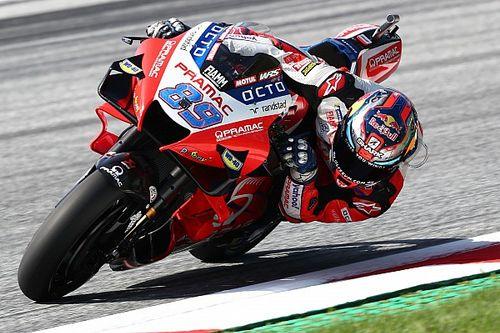 MotoGPオーストリア予選:マルティンがQ1から這い上がりレコードタイム更新!2連続PP。中上貴晶12番手