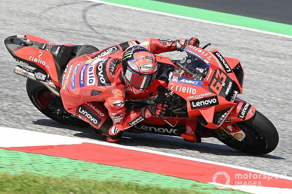 【リザルト】MotoGP第11戦オーストリアGP FP3タイム結果