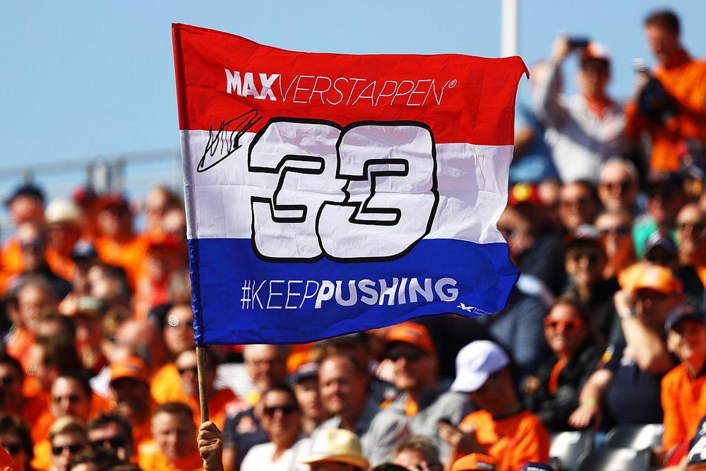 Az Olasz Nagydíj nézőinek több mint 30 százaléka Verstappen-szurkoló lesz