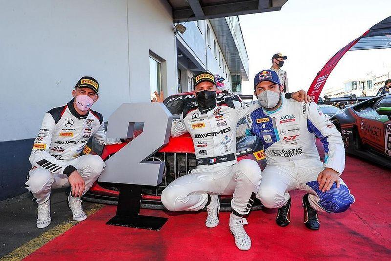 Felipe Fraga garante pódio em Nurburgring pela GT World Challenge Europe