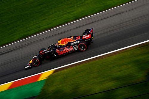 F1: Verstappen comanda dobradinha da Red Bull com pista molhada no TL3 da Bélgica