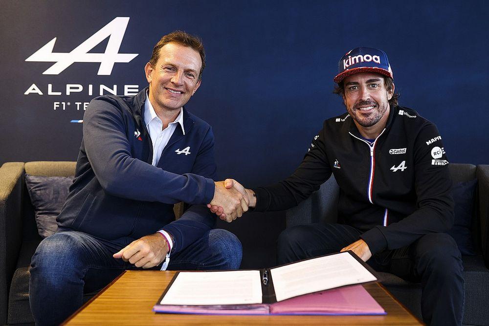 Alpine aclara la renovación de Alonso: ¿había dudas?