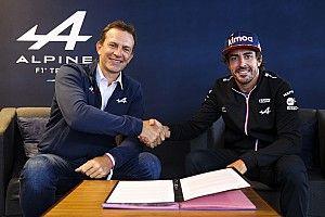 Alonso et Alpine confirment leur entente pour 2022