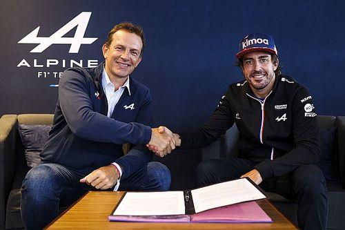 F1: Alpine confirma renovação de Fernando Alonso para 2022