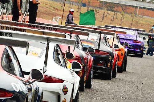 Veja como foram as corridas de sábado da Porsche Cup em Goiânia