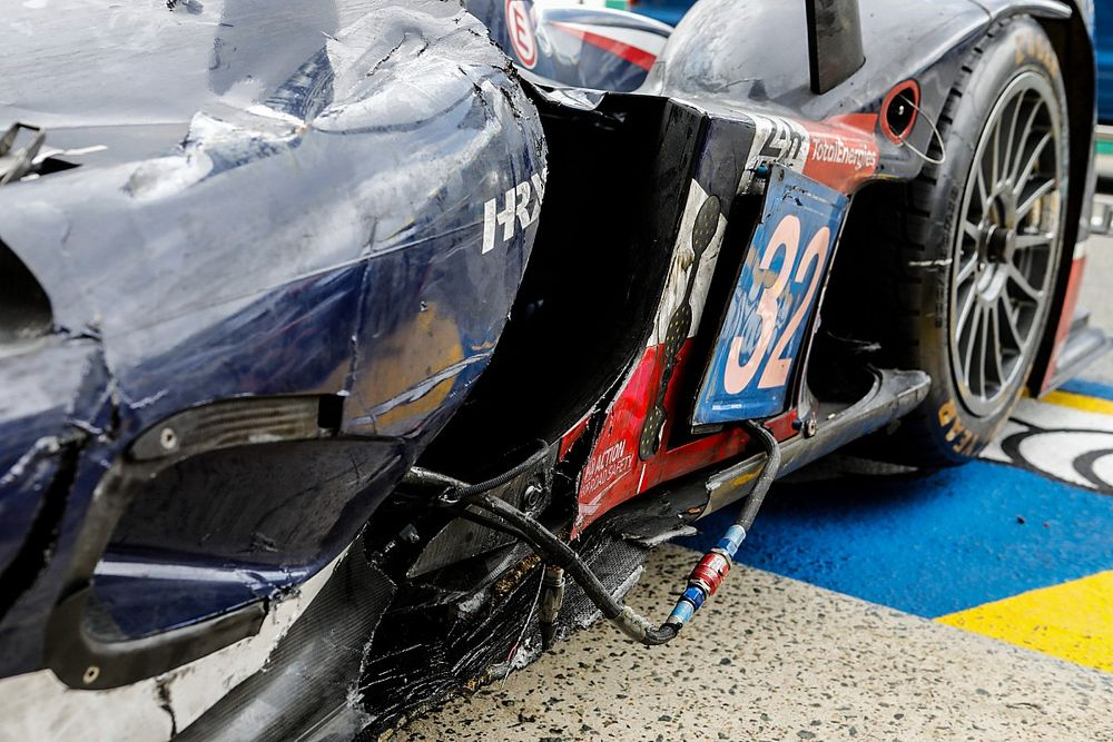 "Maldonado ""devastated"" to cause intra-United Le Mans clash"