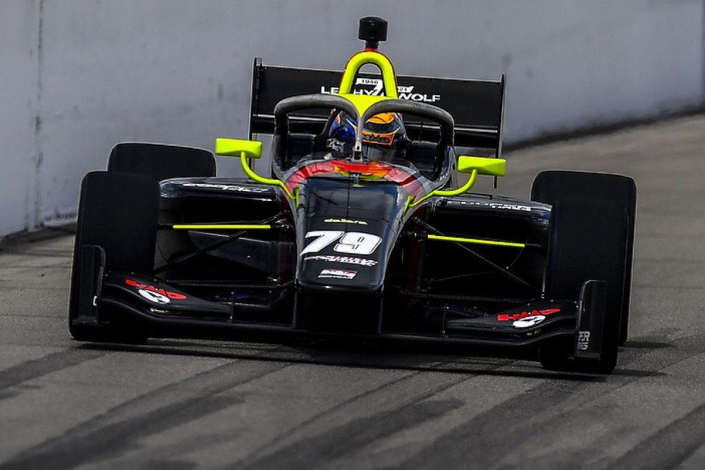 Gateway Indy Lights: Malukas beats Kirkwood after hard scrap