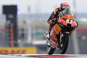 Twee races schorsing voor aanstichter megacrash in Moto3-race