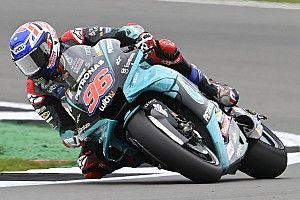 Jake Dixon Temani Valentino Rossi Lagi di MotoGP Aragon