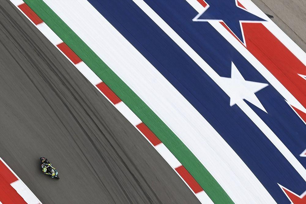"""Rossi: """"El problema es que hemos discutido 100 veces del asfalto de Austin"""""""