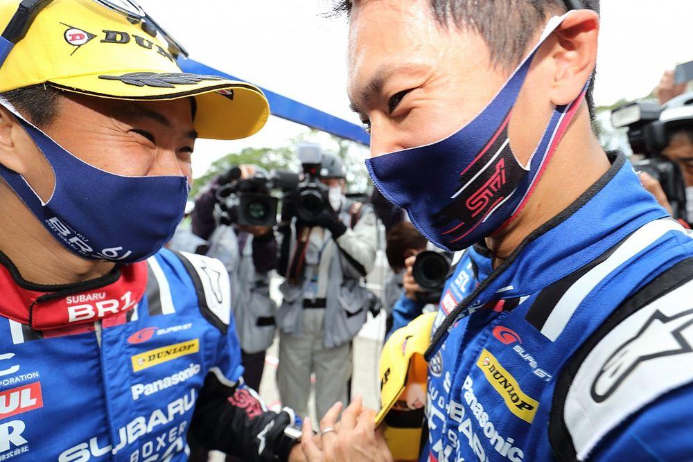 【スーパーGT】5戦3PPと予選で圧倒的速さ誇る61号車SUBARU。決勝でも「強いBRZを見せたい」と井口卓人