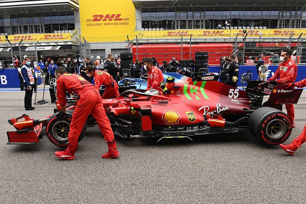Ferrari instalará a Sainz el nuevo motor en Turquía, donde será penalizado