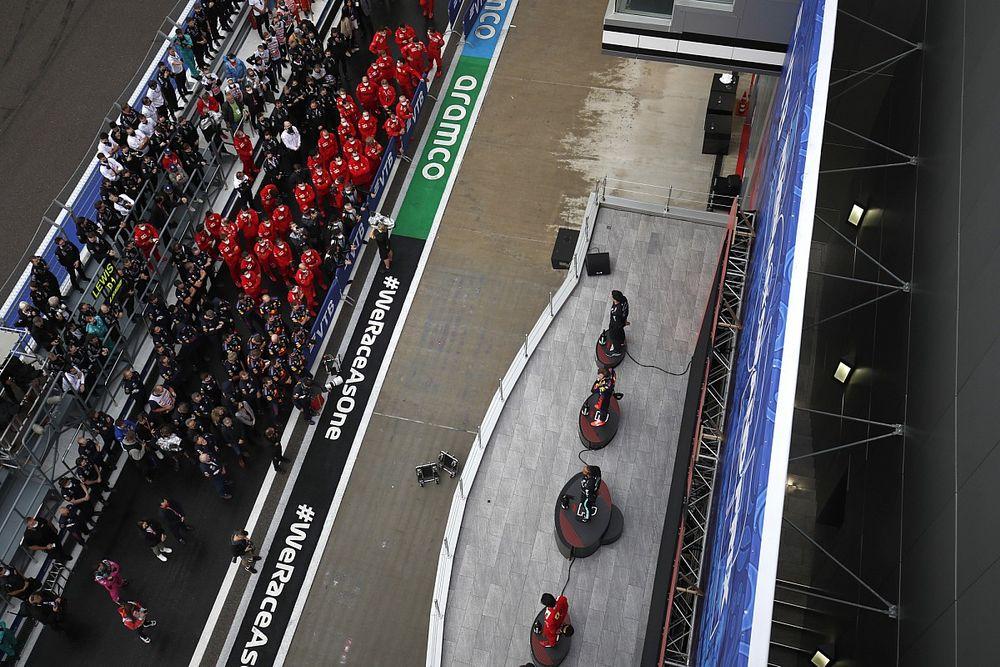 GALERÍA: mejores fotos del GP de Rusia F1
