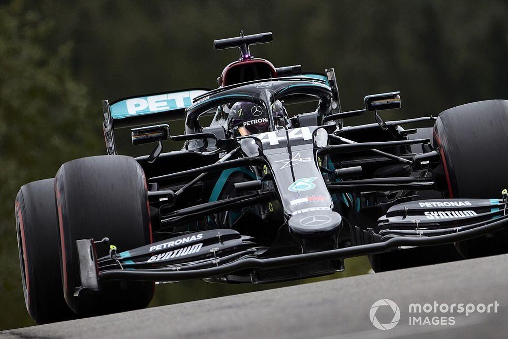 Belgian GP: Hamilton leads FP3 from Ocon; Vettel slowest