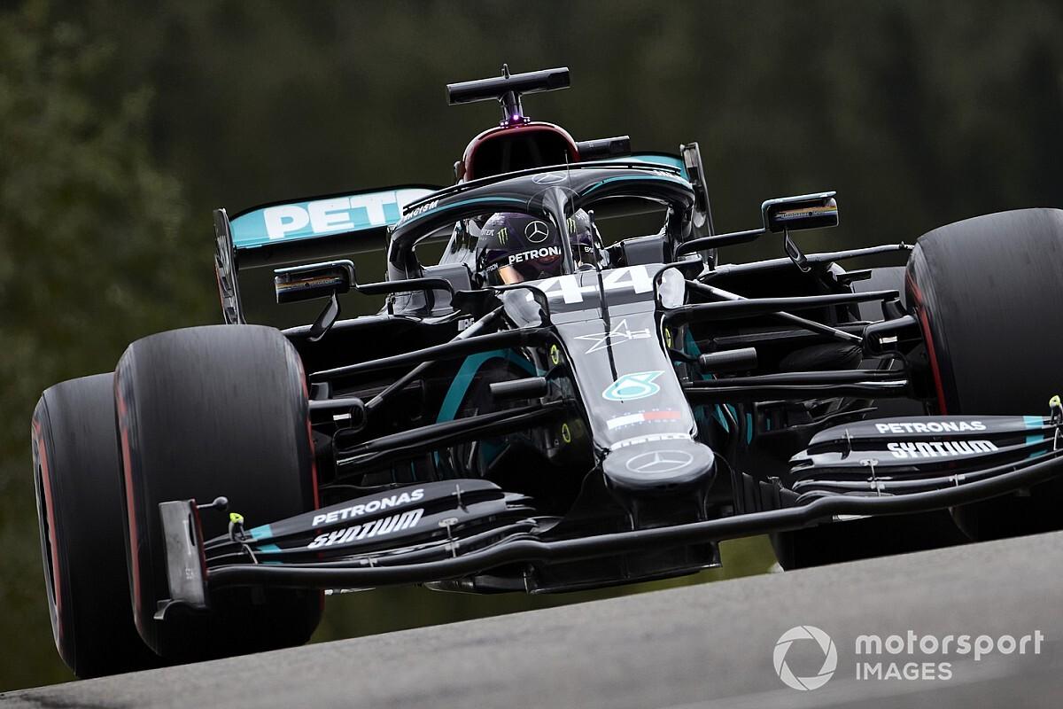 比利时大奖赛FP3:汉密尔顿重返榜首,维特尔垫底