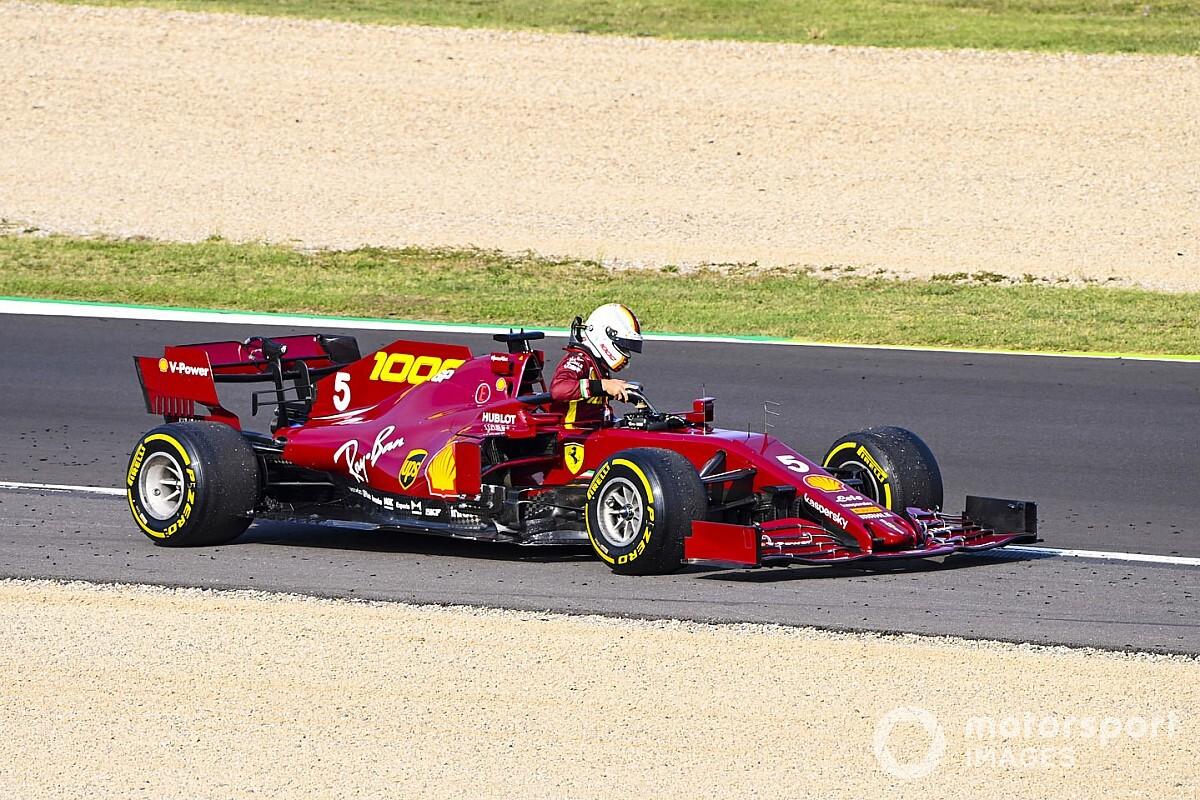 Vettelnek ma is sokat kellett gépészkednie a Ferrari volánja mögött