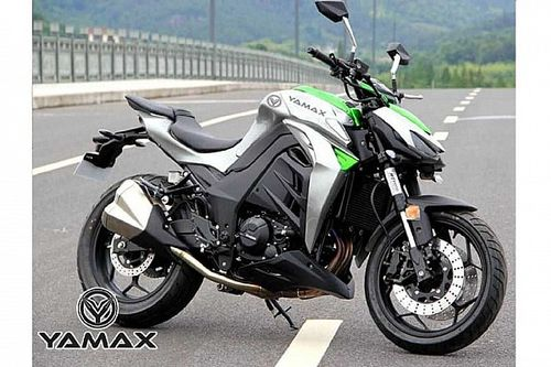 Yamax Z400, la copia china que imita la Kawasaki Z1000