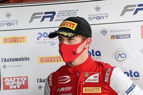 Arthur Leclerc promoveert in 2021 met Prema naar Formule 3