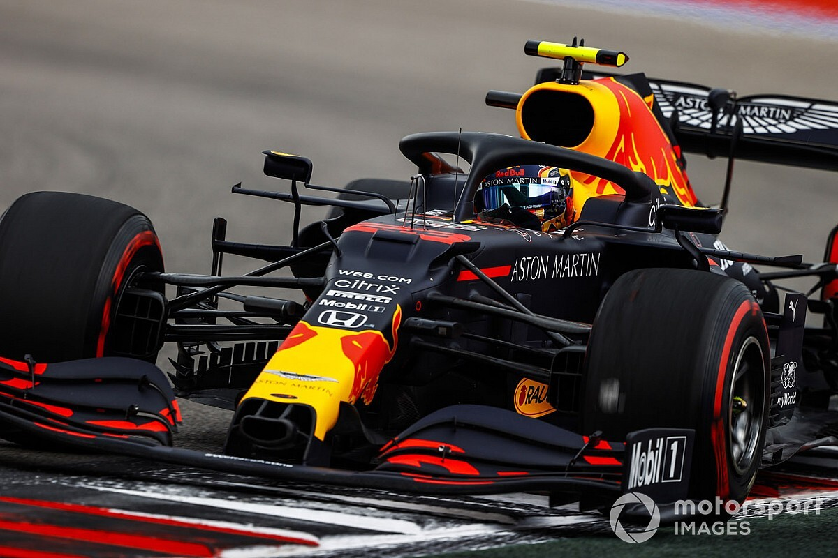"Albon needs more confidence ""hustling"" Red Bull car"