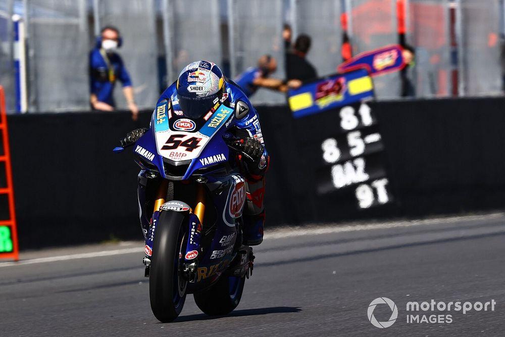 SBK, Estoril, Superpole Race: Razgatlioglu vince, dominio Yamaha