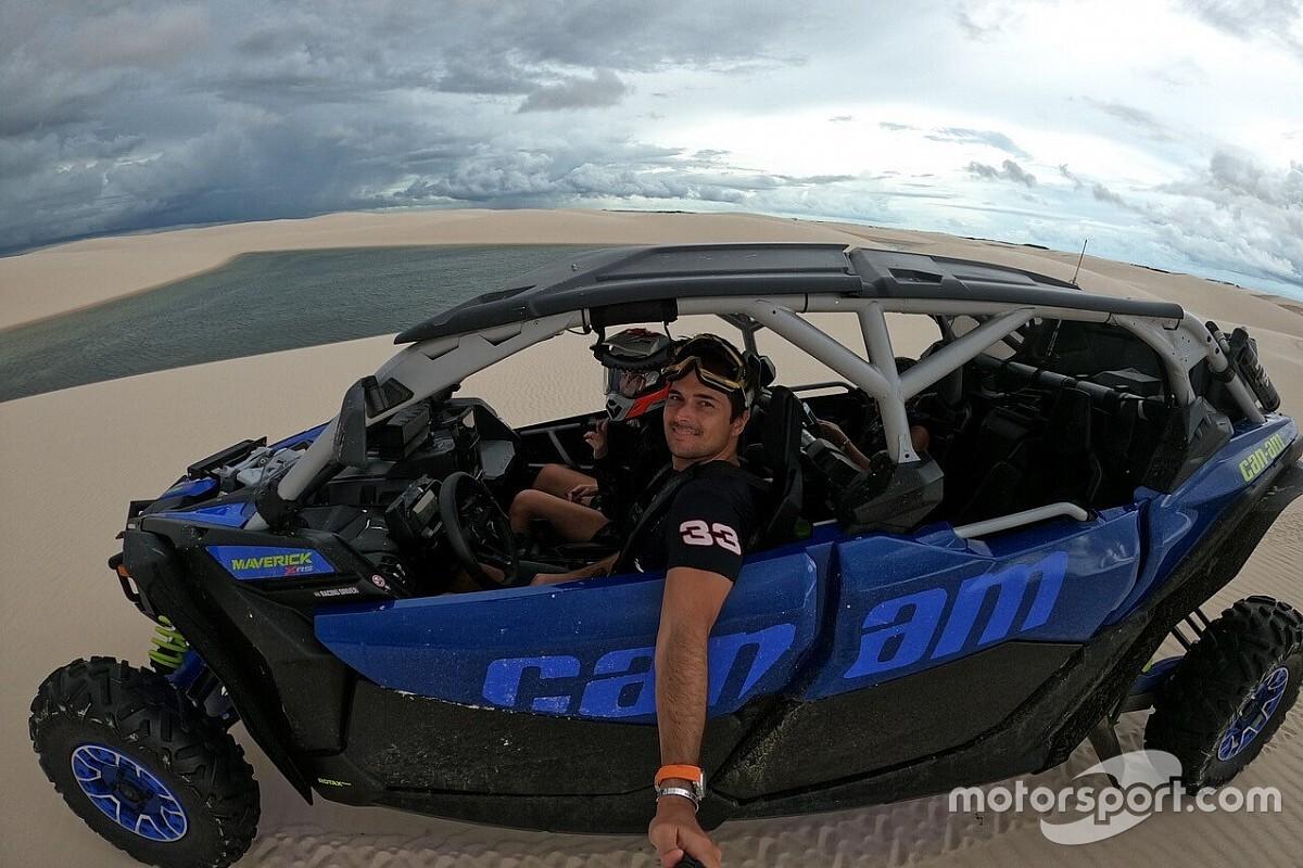 Nelsinho Piquet brinca com acidente, mas exalta equipe para disputa do Sertões 2020