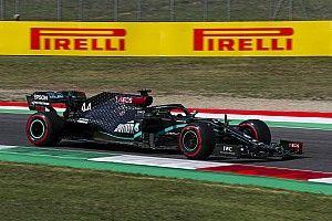 """Hamilton: """"Verstappen en Bottas snel, foutmarge Mugello nihil"""""""